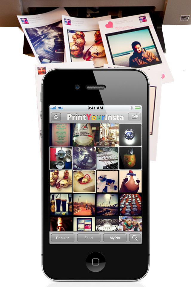 Print your insta instagram print